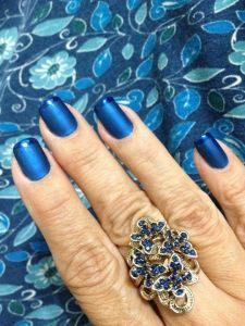 Esmalte azul marinho 5